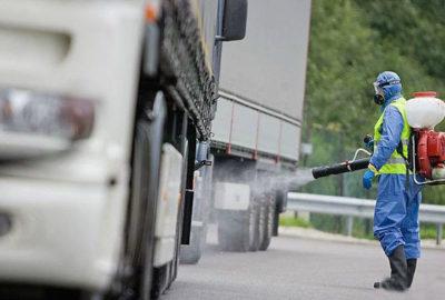 Дезинфекция автотранспорта